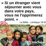 La Bible n'oublie pas les plus pauvres !